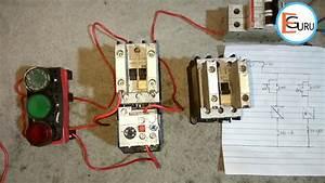 Reverse Forward Motor Starter Control Circuit With Diagram