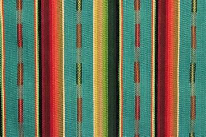 Mexican Serape Stripe Turq Sundance Multi Fabricmill