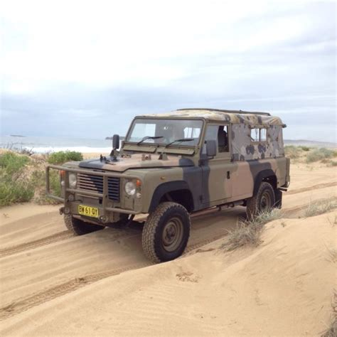land rover australian rare ex australian army land rover defender 110 for sale