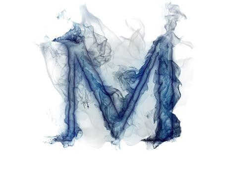 Letter Lit. Smoke Gas M Hd Wallpaper