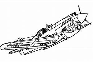 Airplane Coloring Pages Getcoloringpagescom