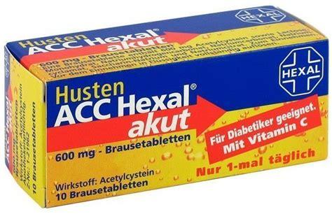 husten acc hexal akut  mg brausetabletten valsona