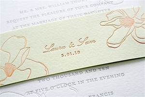 Spring magnolia wedding invitations for Magnolia tree wedding invitations