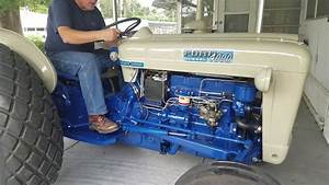 1964 Ford 4000 Tractor Diesel 4cy Select