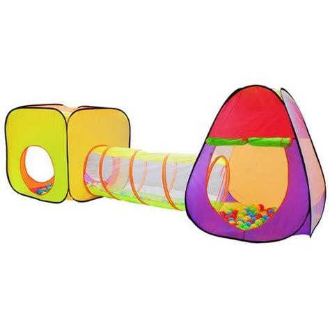 65.00 38.50 EUR Bērnu Telts ar tuneli, mājiņu un 200 bumbām