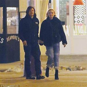 Diane Kruger And Norman Reedus Confirm Relationship Daily Mail Online