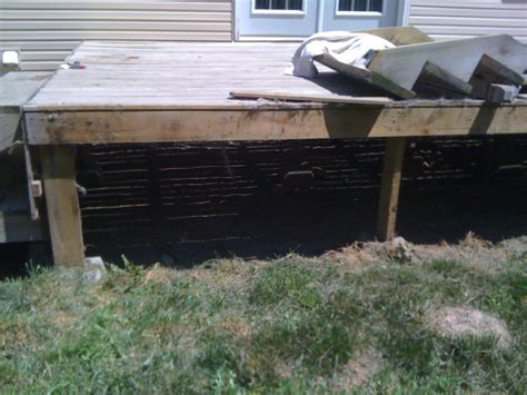 Deck Support Blocks by Use Of Precast Concrete Post Bases Decks Amp Fencing