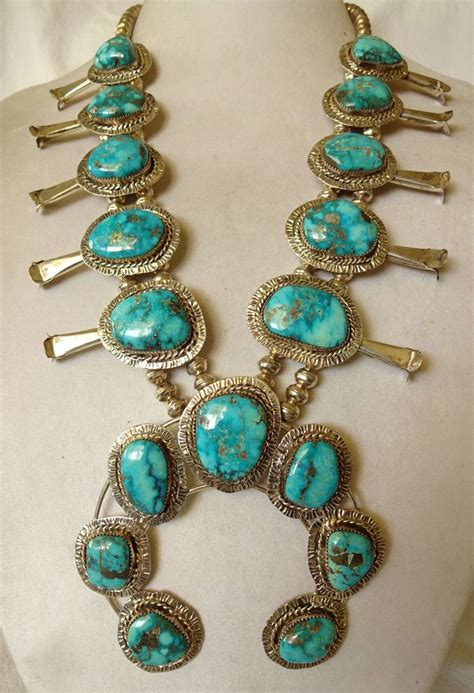 219 best images about Squash Blossom Jewelry on Pinterest