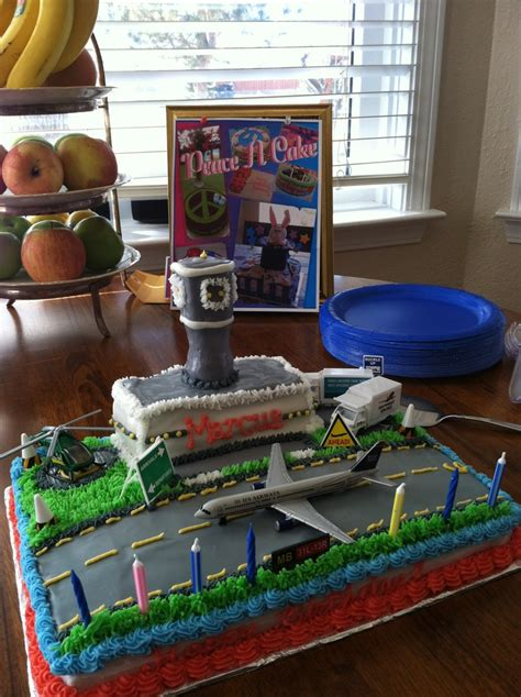 Airport Cake $6000  Cakes I've Made!  Pinterest Cakes