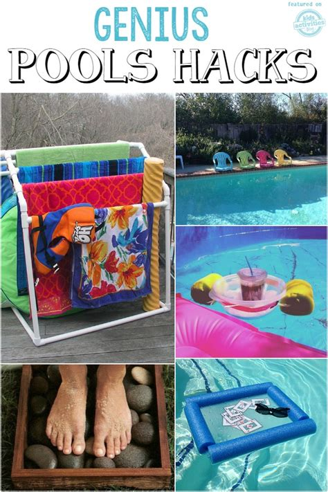 pool hacks coolest pool toys