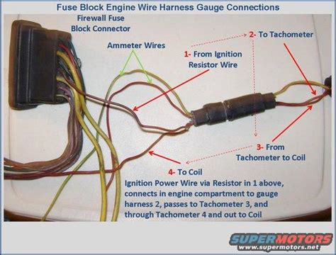 1971 Mopar B Engine Harnes Ignition Coil Wire by 75 Chero Gt Tach Wiring Question Ranchero Us