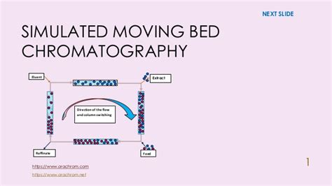 More on simulated moving bed chromatography
