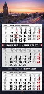 Tischkalender 3 Monate : hamburg 3 monatskalender 2019 ~ Watch28wear.com Haus und Dekorationen