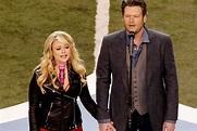 Miranda Lambert and Blake Shelton Sing 'America the ...
