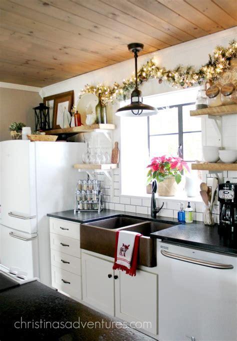 Farmhouse Christmas Kitchen   Christinas Adventures