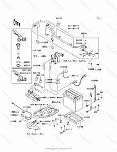 Kawasaki Jet Ski 2003 Oem Parts Diagram For Electrical