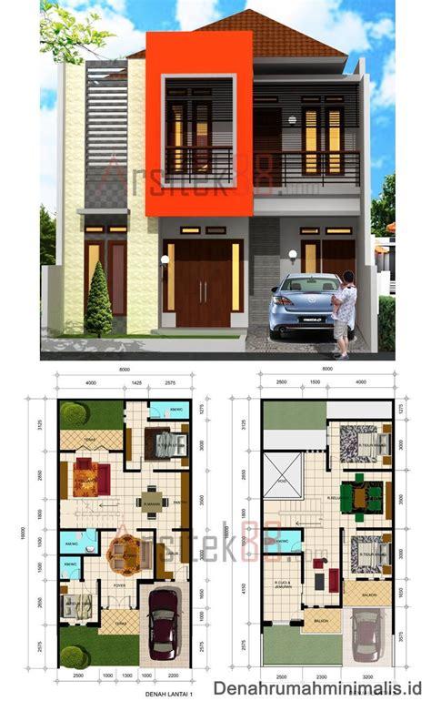 desain rumah minimalis  lantai  apartemen meikarta
