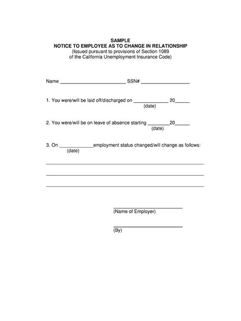 California's principle source of unemployment insurance law is the california unemployment insurance code. Ca Change Relationship Form - Fill Online, Printable, Fillable, Blank | pdfFiller