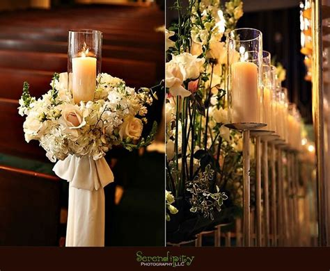 images  church pew flowers  pinterest