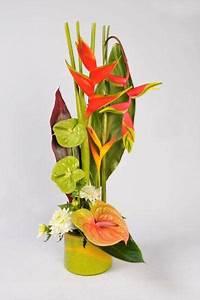 Bouquet de fleurs exotiques bouquet de fleurs exotiques c for Chambre bébé design avec composition de fleurs exotiques