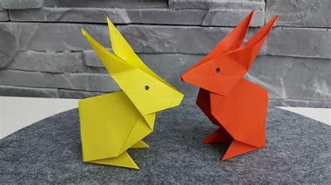 Hase Aus Origami Papier Falten, Diy