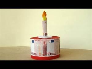Geldgeschenke Zum 80 Geburtstag : geldgeschenke geburtstag torte basteln youtube ~ Frokenaadalensverden.com Haus und Dekorationen