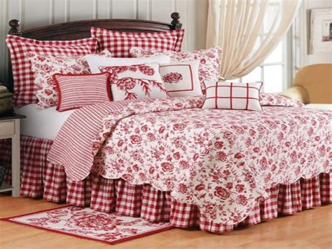 country bedding country bedroom decorating ideas french country bedding red and white french toile bedding
