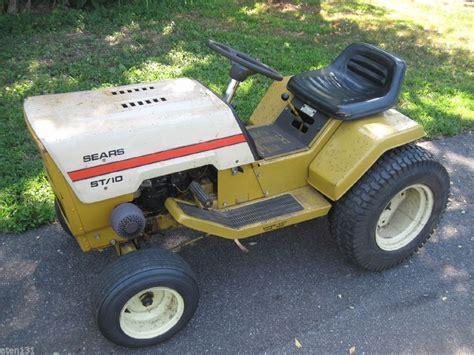 sears garden tractors craftsman gt 18hp 44 mower garden tractor mov 1000