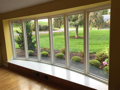 Bow Windows Project  Pella  Quality First Contractors