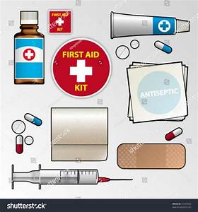 First Aid Kit Stock Vector 51045562