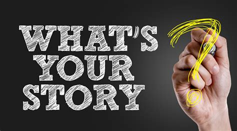 Whats Your Story Stock Photo - Download Image Now - iStock