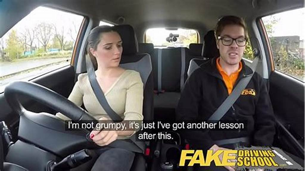 #Fake #Driving #School #Little #English #Teen #Gets #Fucked #After
