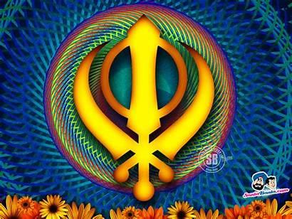 Sikh Symbols Wallpapers Gurus Gurudwara Sikhism Golden
