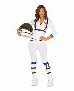 Sexy Astronaut Costume Opaque overalls for women