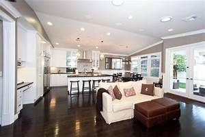 kitchen design interior designs for kitchen and living With kitchen and living room design