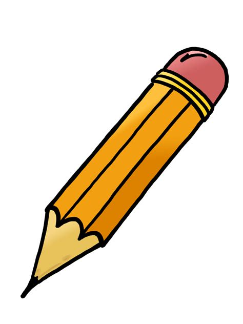 clipart picture pencil and paper clipart clipartion