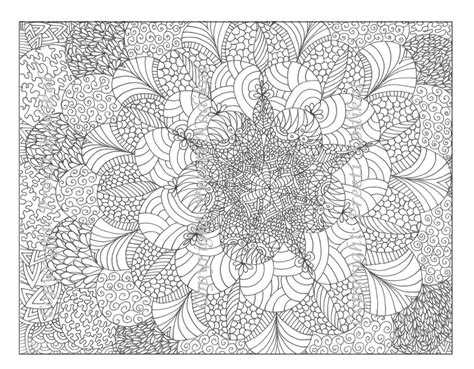 detailed coloring pages free printable abstract coloring pages for adults