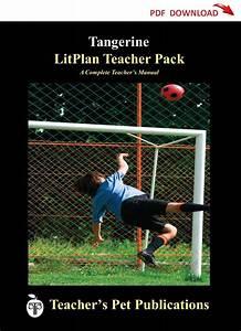 Tangerine Litplan Lesson Plans  Download