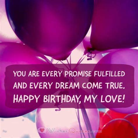 On your birthday, i pray that you will find someone who would love and cherish you all the days of your life. Love Quotes for Her Archives - By LoveWishesQuotes