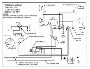 Gauge Wiring Diagram Ih 666 26106 Netsonda Es
