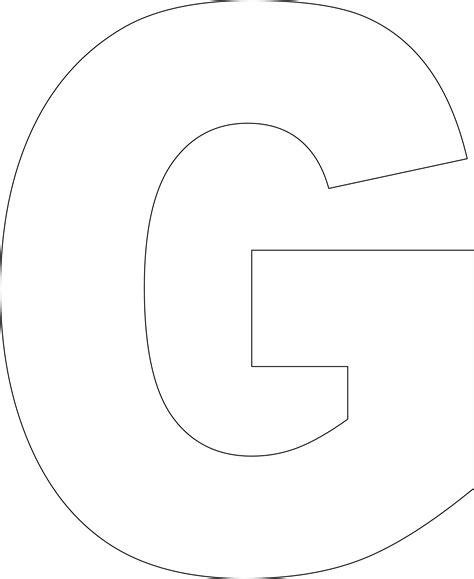 lettergprintabletemplates large printable pinterest