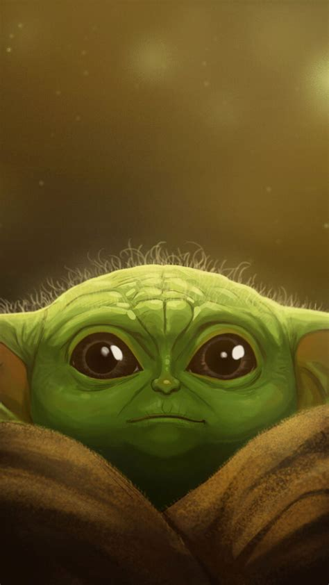 1080x1920 Baby Yoda Fanart 2019 Iphone 7 6s 6 Plus And