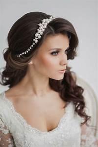 Braut Make Up Selber Machen : 50 sehr tolle ideen f r frisuren mit haarband ~ Udekor.club Haus und Dekorationen