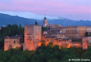Alhambra Palace Granada Spain