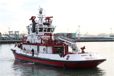 Bc Fire Boat by Los Angeles Fire Boat No 2 The Warner L Lawrence