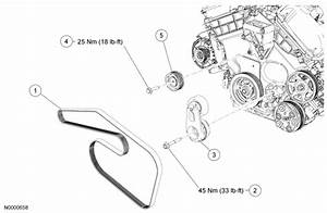 I Need A Diagram For The Serpentine Belt On A 2005 Escape