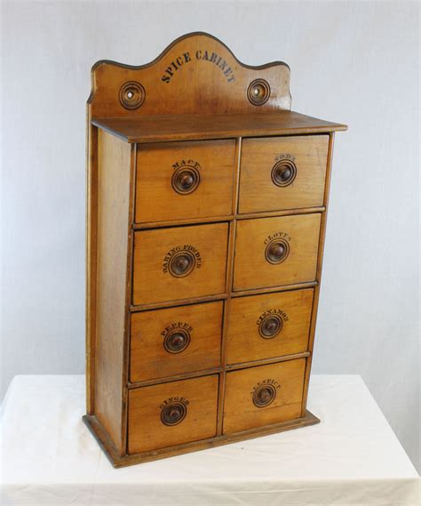 bargain johns antiques large wall mount wooden spice rack box bargain johns antiques