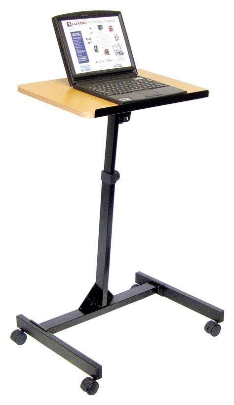 computer desk with laptop stand adjustable height laptop computer stand tilting surface
