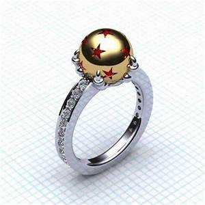 Jewels dragon ball z dragon ball ring engagement ring for Dragon ball wedding ring