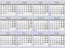 2007 Yılı Takvimi Resmi tatiller kaç gün Bayram